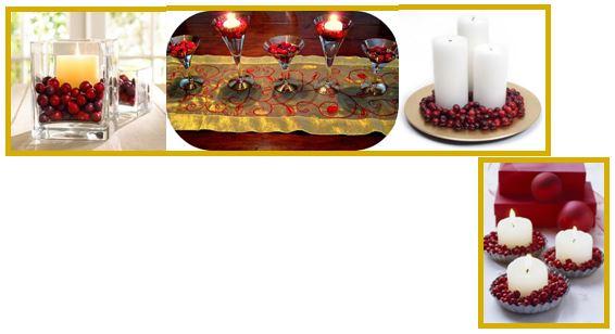 cran candles
