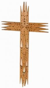 cross clothespin