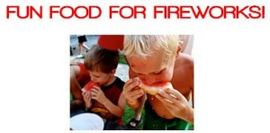 fun food for fireworks