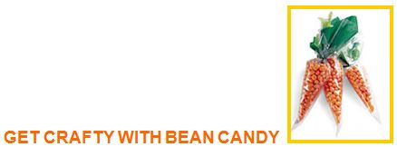 get crafty with bean candy