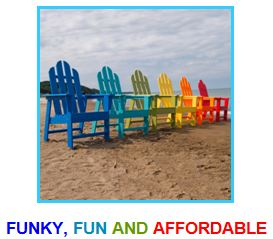 funky, fun and affordable