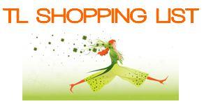 tl shopping list