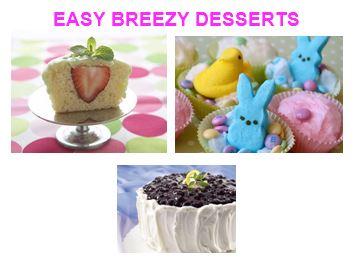 easy breezy desserts