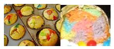 jelly bean cake or cupcakes img